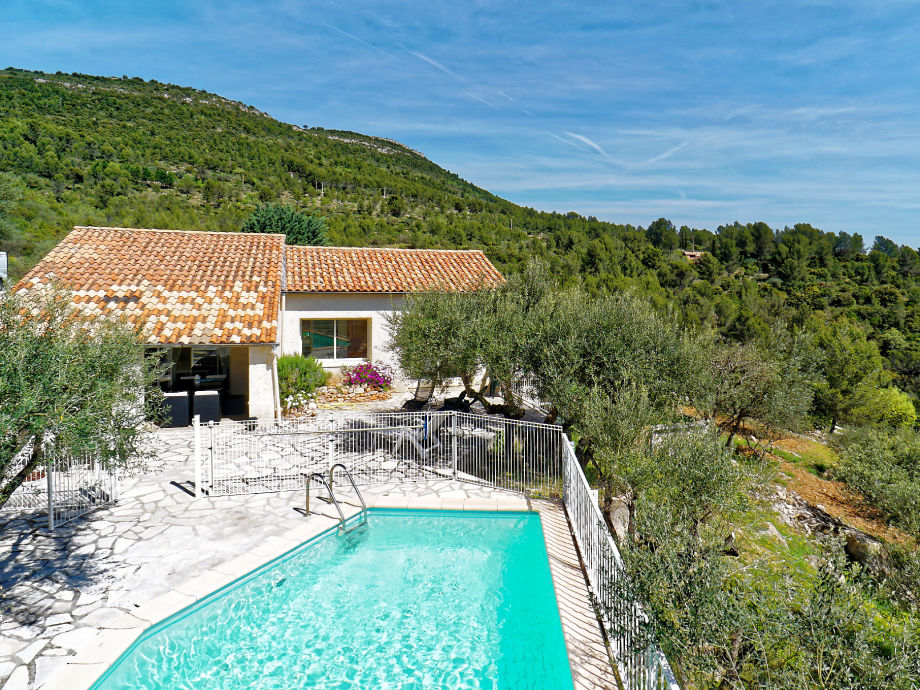 Ferienhaus mit Pool in Sollies-Toucas in der Provence