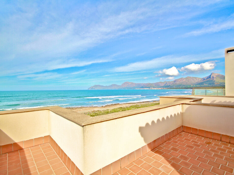Außenaufnahme / Strandhaus Son Serra de Marina
