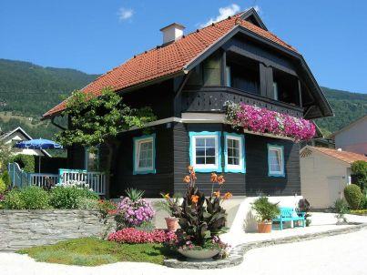 Gartenblick im Haus 1