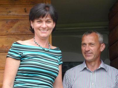 Ihr Gastgeber Ingrid und Franz Gombotz