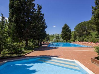 Landgut Il Poggio - 2-Zi.-Ferienwohnung mit Pool