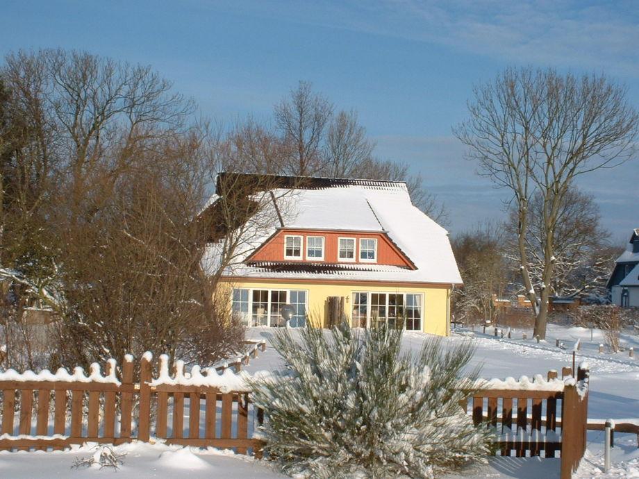 Jagdhaus im Winter