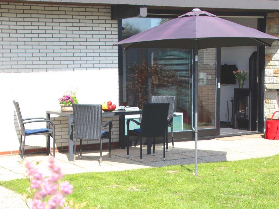 Außenaufnahme Komfort-Ferienhaus Meerhaus Tossens