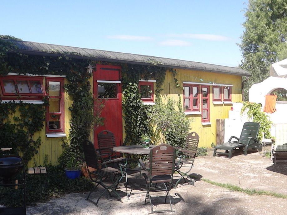 Ferienhaus Zirkuswagen Ostsee Kieler Bucht Familie