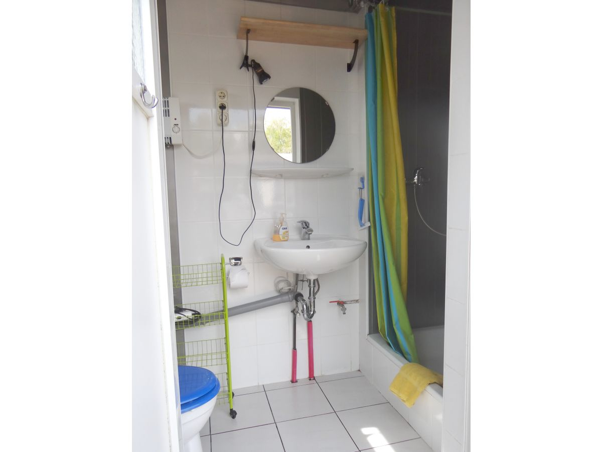 Separates Badezimmer Schlafbereich (die Betten sind zusammen schiebbar