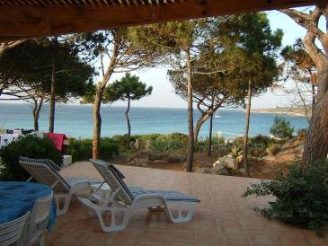 Mini-Villa am Sandstrand Sant'Ambroggiu