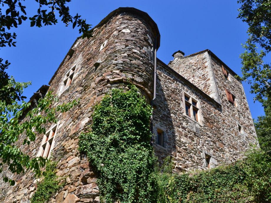 Château de la Rouvière (Südostseite)