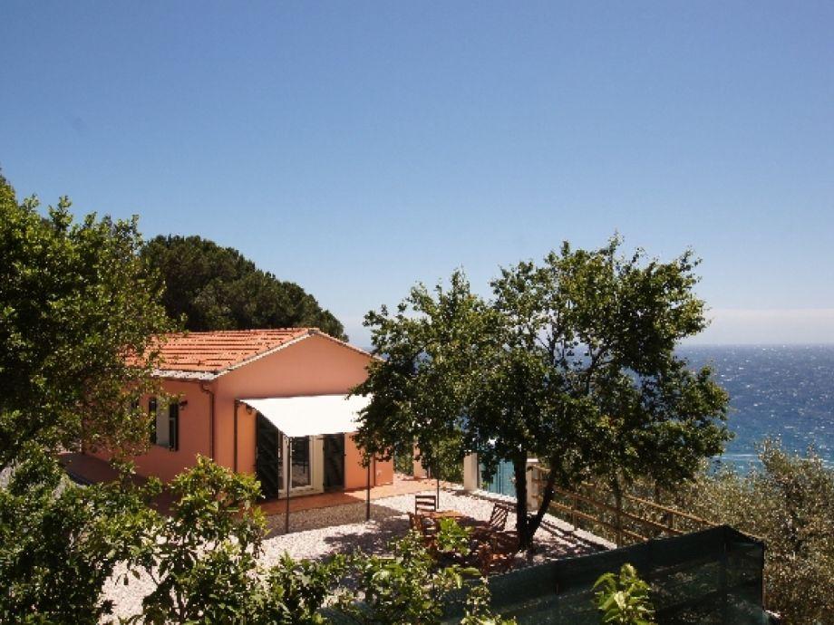 Außenaufnahme Villino Capo Berta