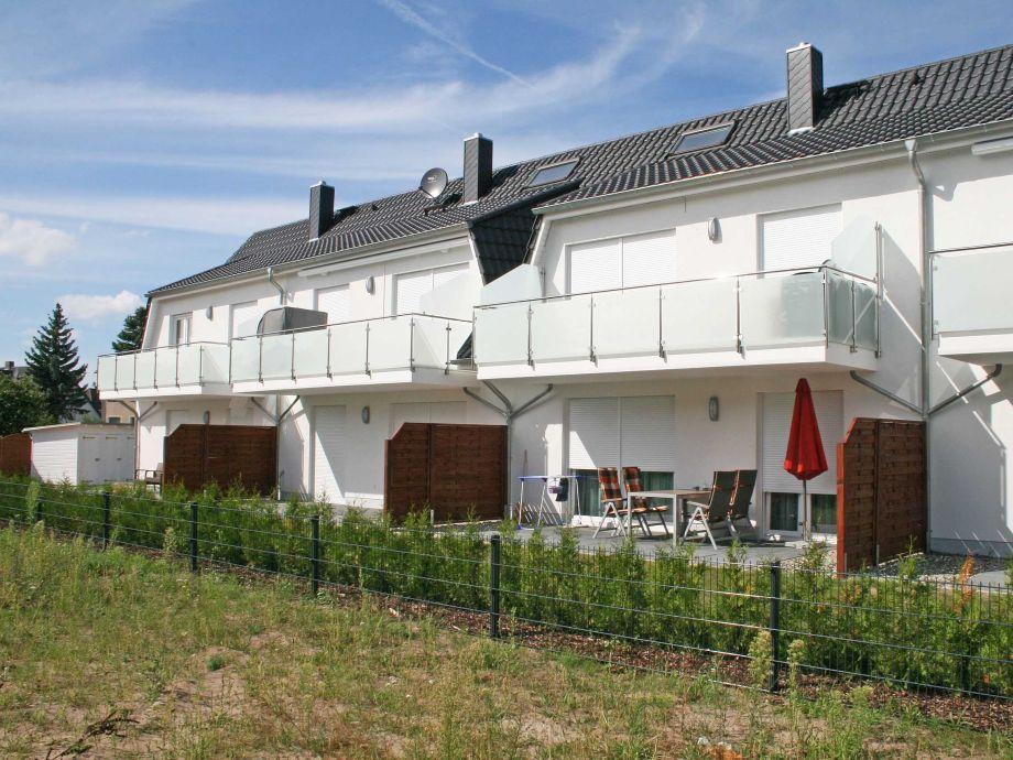 Außenaufnahme A.01 Haus Sanddorn Whg. 5 mit 2 Balkone