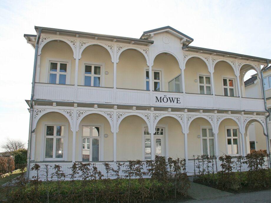 Außenaufnahme 02 mit Terrasse im Haus Möwe I