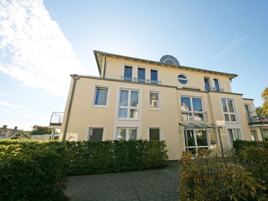 Außenaufnahme 09 mit Balkon im Haus Möwe II