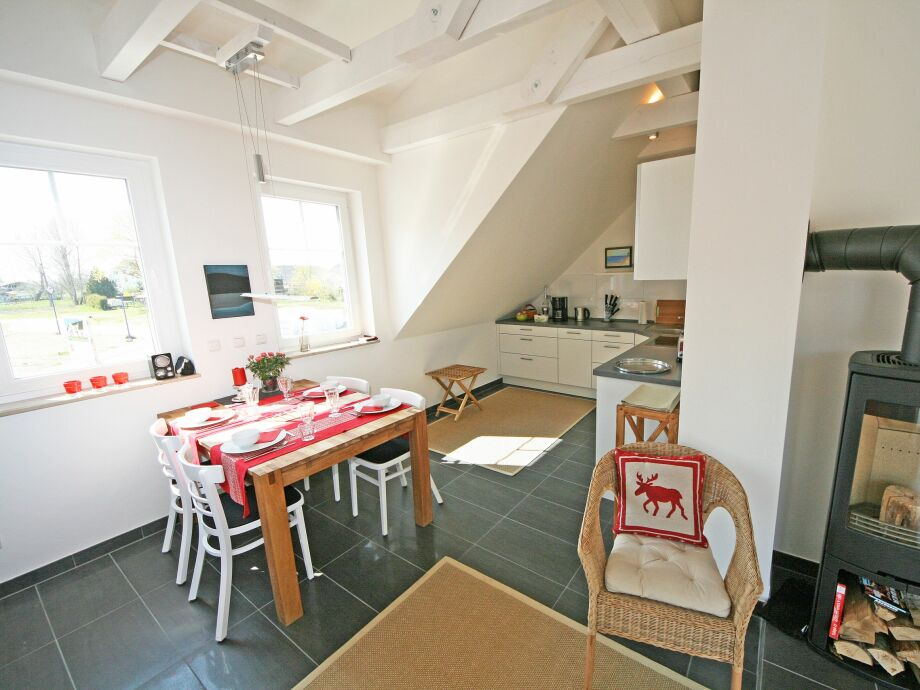 Ausstattung 04 mit Südbalkon im Haus Möwe
