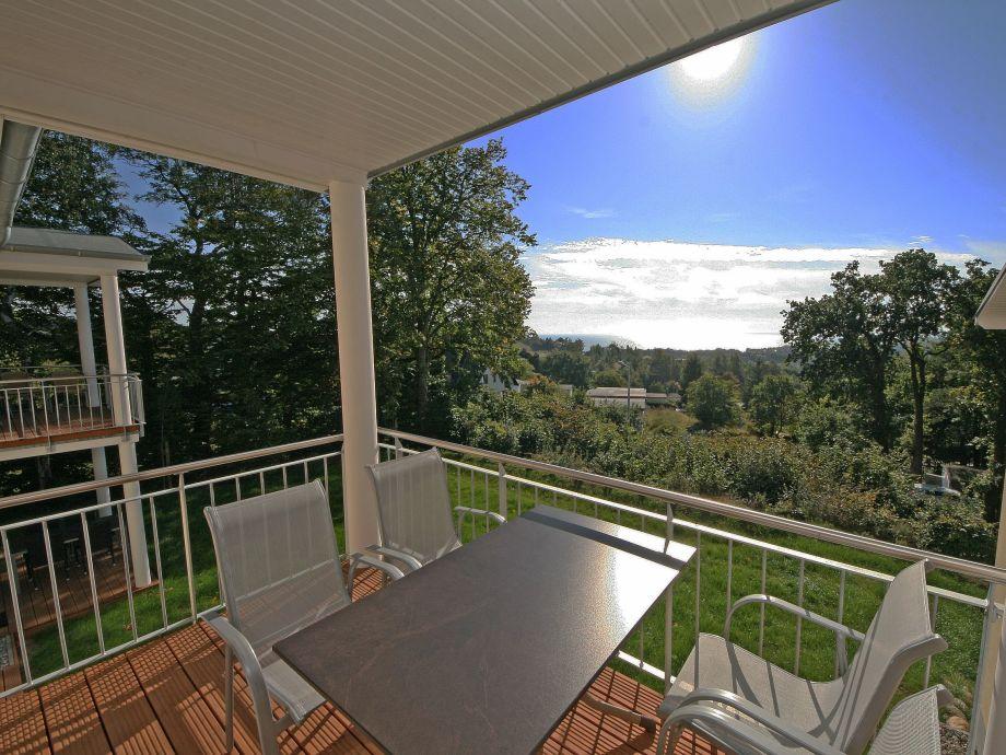 Balkon der Ferienwohnung