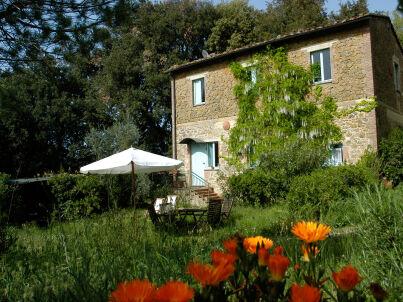 La Lecciatina - Gemütliche Ferienwohnung bei Volterra