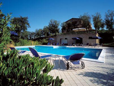 Casa Casalta mit Pool bei Gubbio