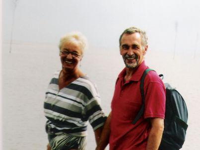 Ihr Gastgeber Martin  und Uta Burghardt