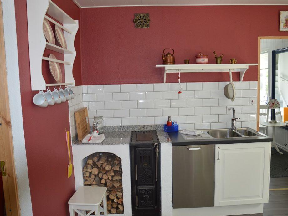 Ferienhaus ostaker smaland frau dorothea herzog for Holzofen küche