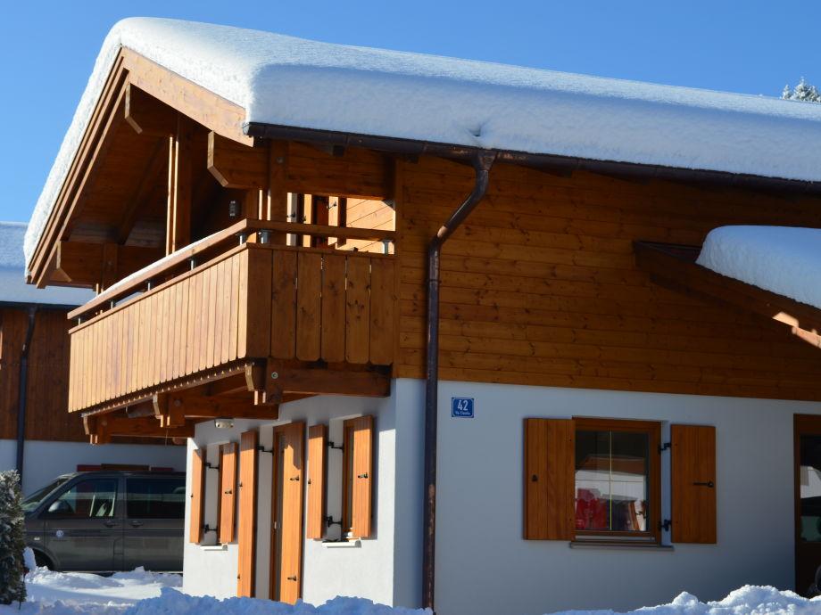 Ferienhaus Onkel Leo im Winter