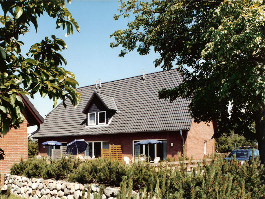 """Das Ferienhaus """"Möwenland a"""" in der Außenansicht"""