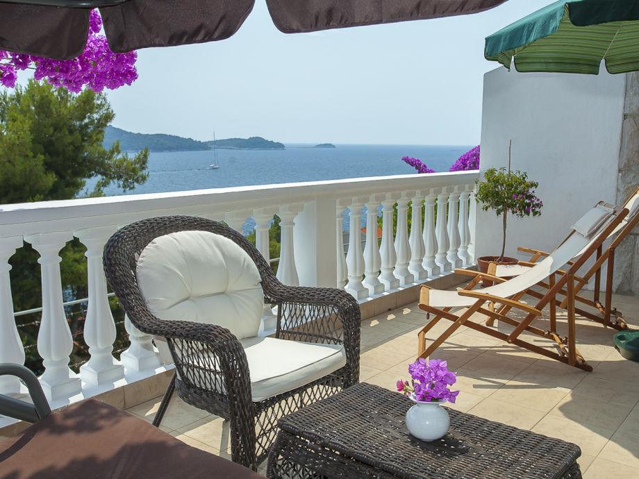 Der Balkon mit Panorama Ausblick