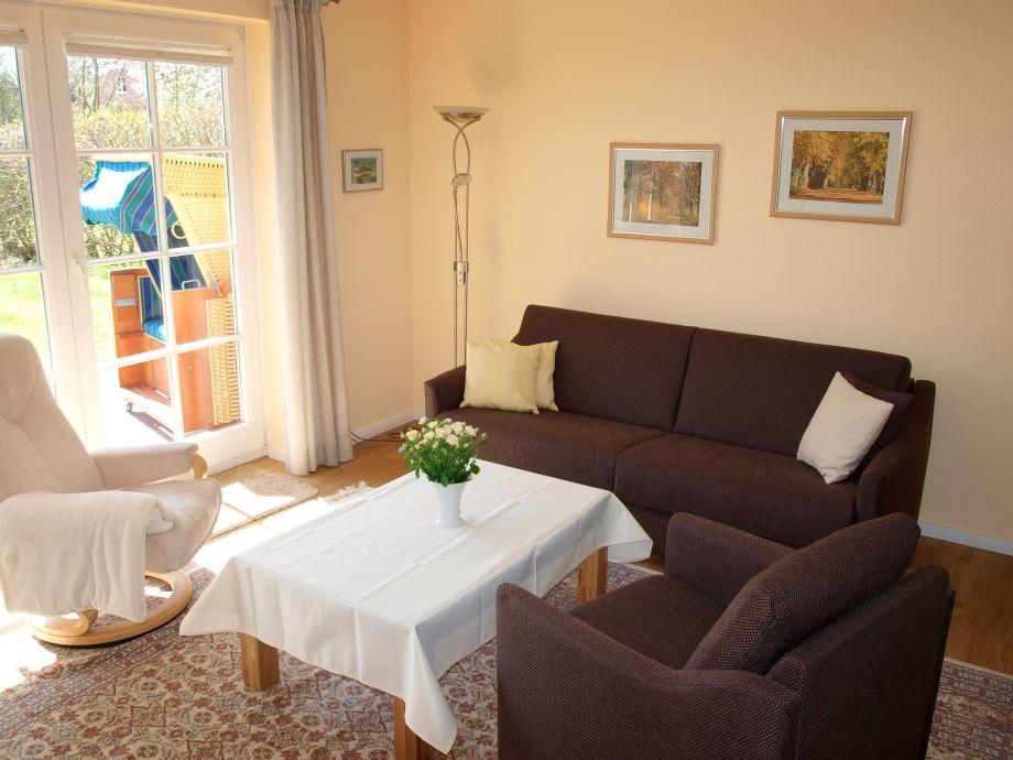 Ferienwohnung astrid 058 nordsee halbinsel for Wohnzimmer eingerichtet
