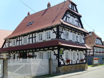 "Bed & Breakfast im ""Maison Ungerer"""