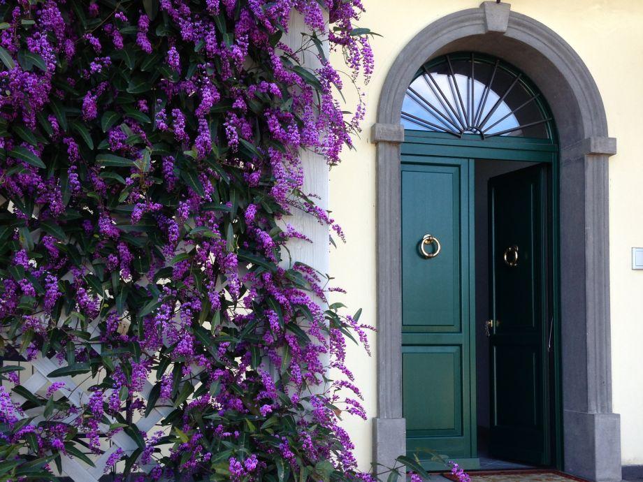 Eintritt Villa