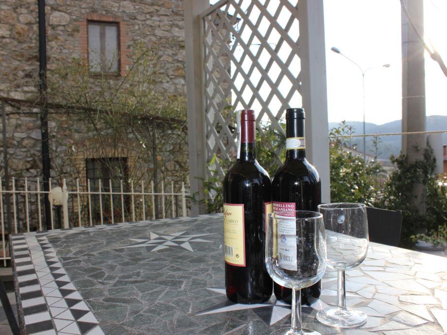 Außenaufnahme Villa Crocefisso Blu