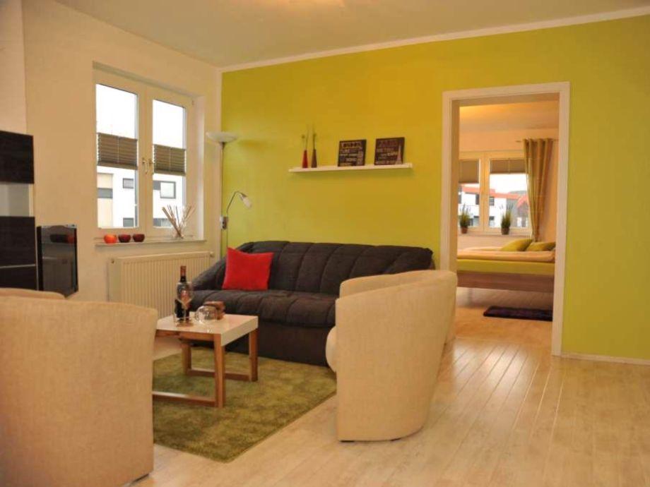 Farbenfroher Wohnbereich