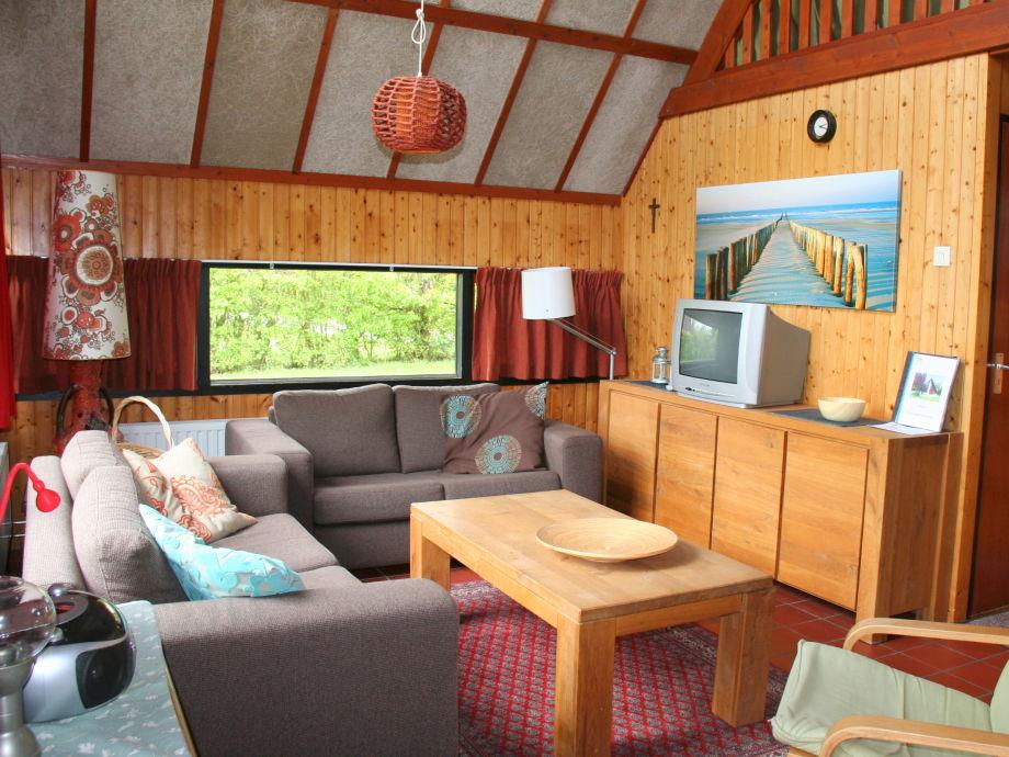 Ferienhaus de vlier 8 zeeland nieuwvliet bad firma - Eingerichtete wohnzimmer ...