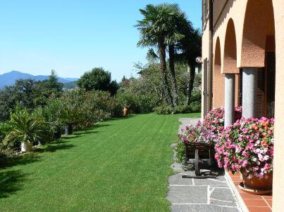 in der Villa Cipressi