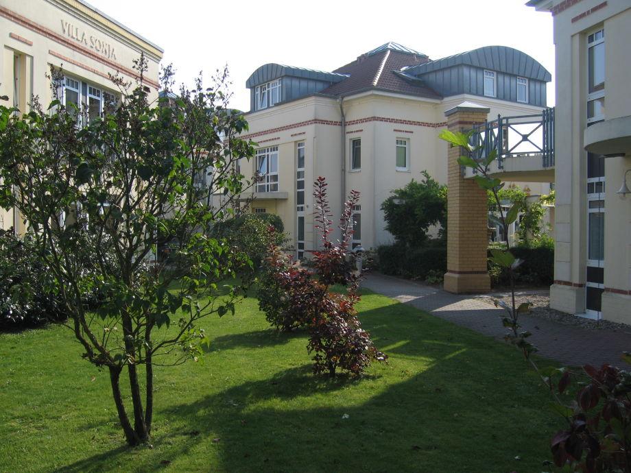 FeWo Villa Nadine - Gartenbereich