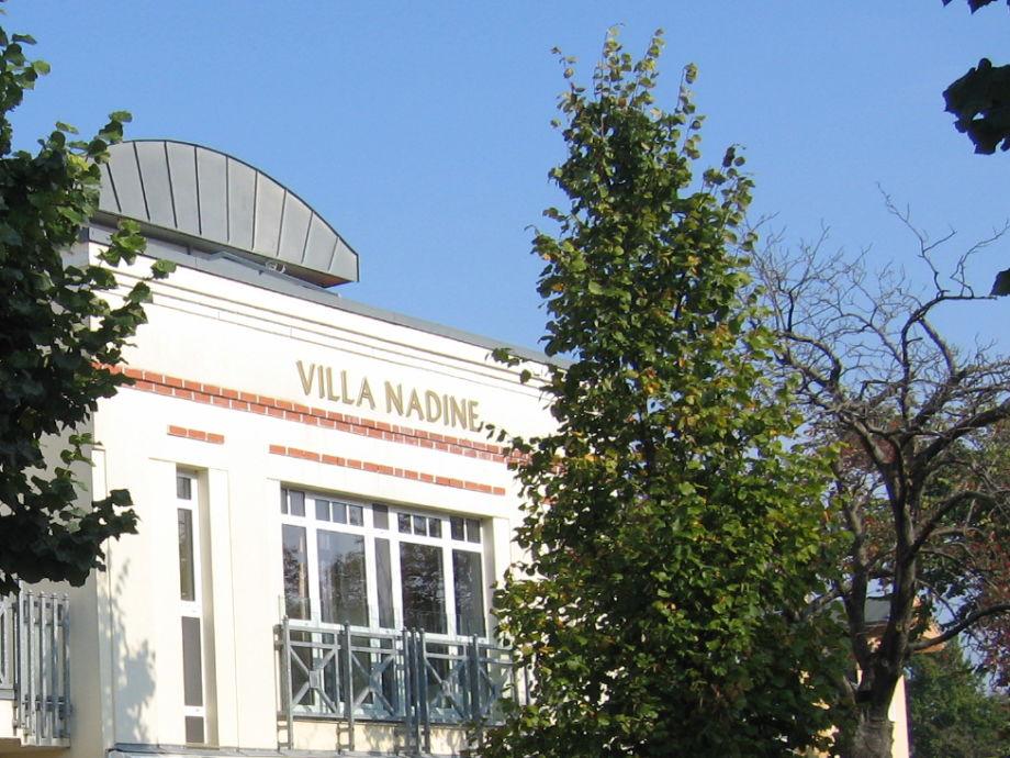 FeWo Villa Nadine - Schöner Balkon im Dachgeschoss