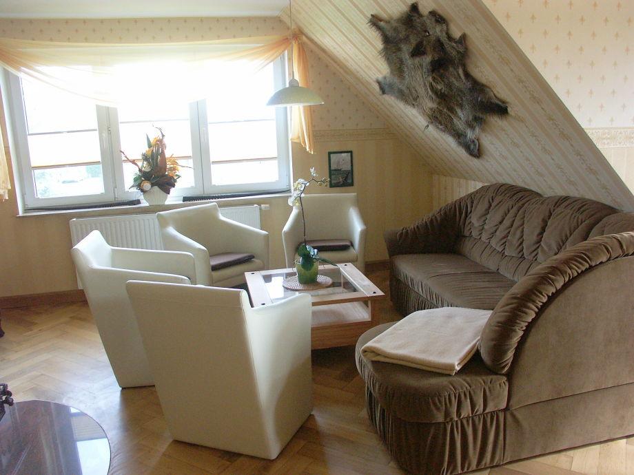 Sofaecke im Wohnzimmer