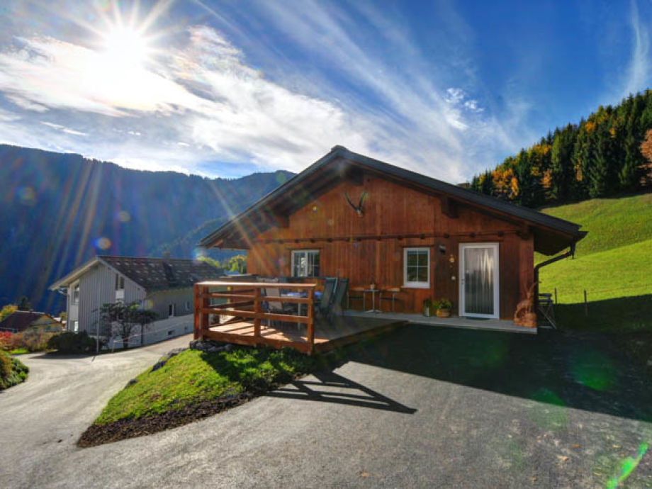 Außenaufnahme Ferienwohnung Vorarlberg
