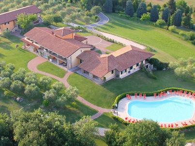 Zweizimmerferienwohnung im Garda Hill auf dem Bauernhof