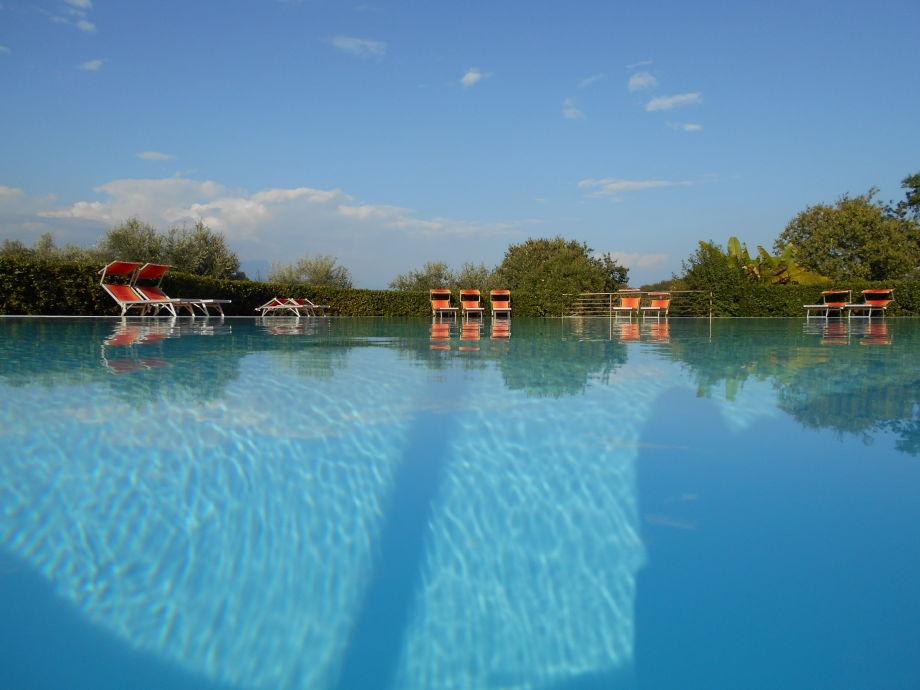 Pool im Gardahill