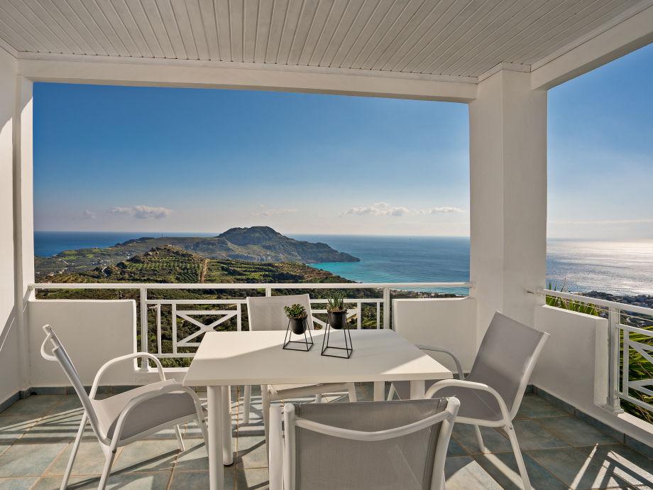 Panoramic Sea view to the bay of Plakias /Damnoni