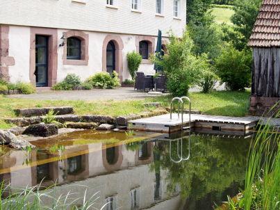 im Haupthaus auf dem Hof Reichenbachtal