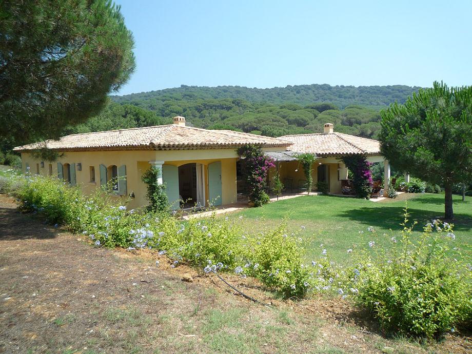 Die Villa in La Croix Valmer