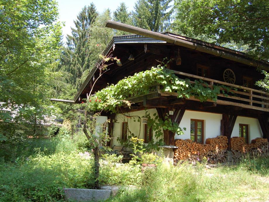 Dürrwieser Waldhaus im Sommer