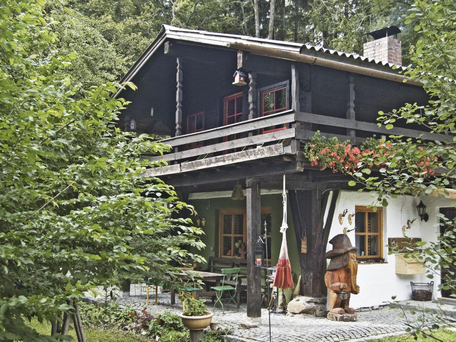 Ferienhaus Hotzenplotz im Sommer