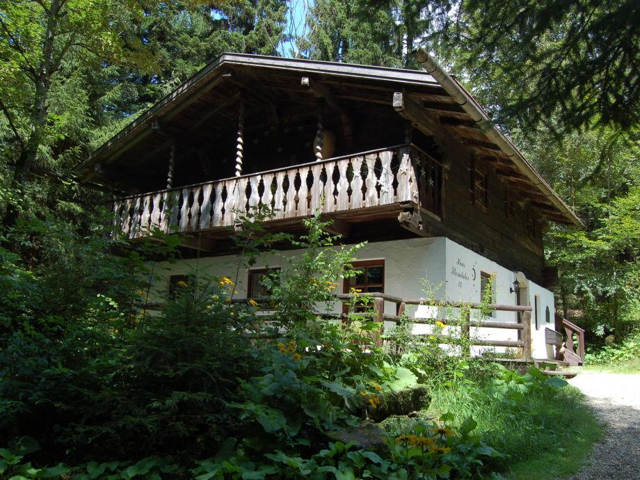 Ferienhaus Sterntaler im Sommer