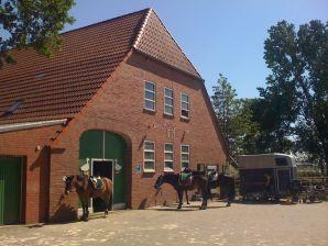 Ferienwohnung 2 auf dem Hof von wattenmeer-ferien