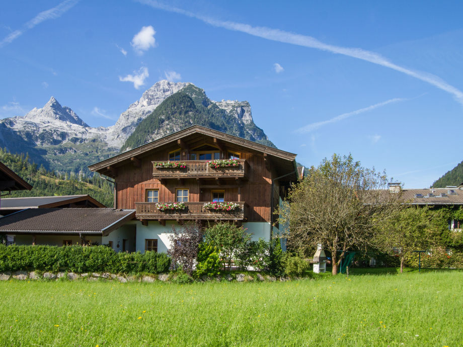 Ferienwohnung Hohenwarter in Lofer - Sommer