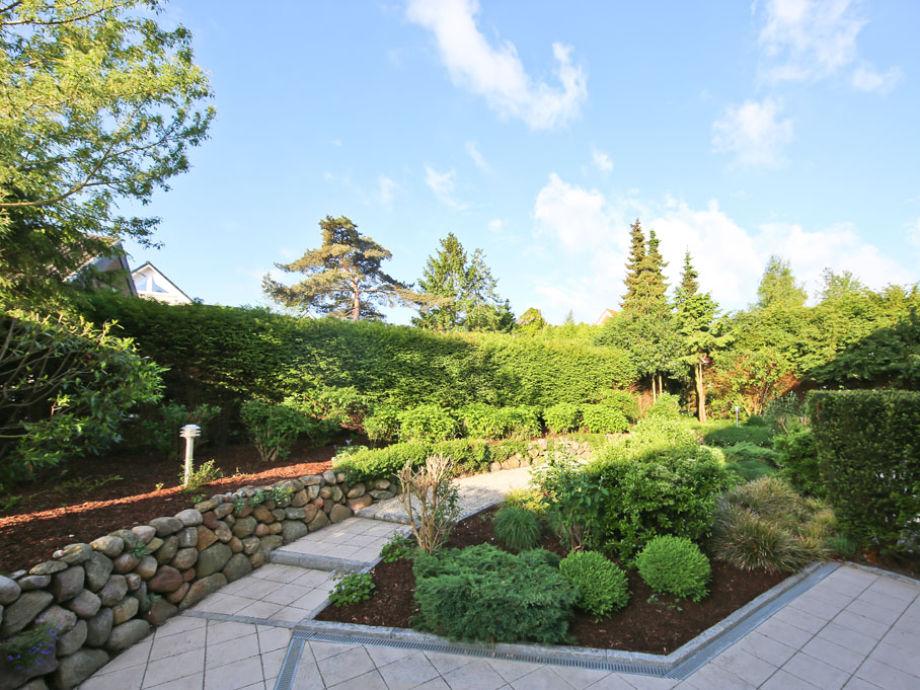 Ein Blick in der Garten Ferienhaus Birkenhof