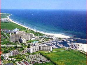 """Ferienwohnung """"Seeschwalbe"""" im Ostsee-Resort Damp an der schönen Ostseeküste"""