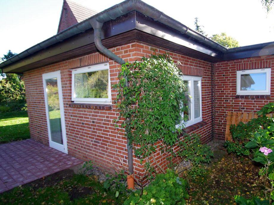 Rückseite / Wohn-Küche - Terrasse / 2tes Schlafzimmer