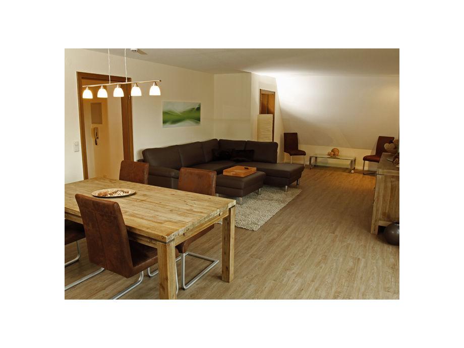 Wohn-Esszimmer Wohnung 6