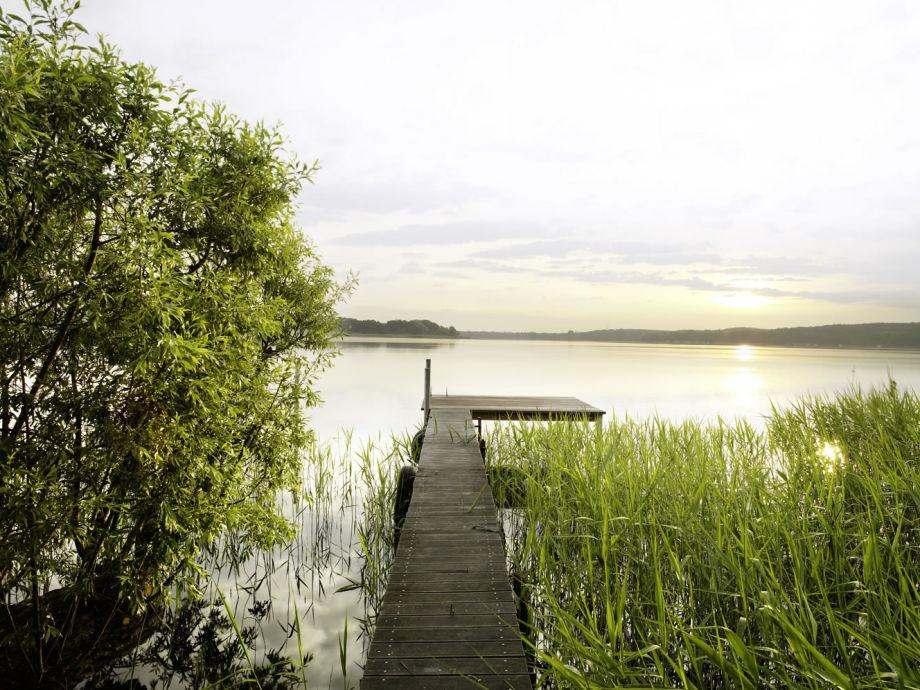 Seeterrasse über dem Templiner See